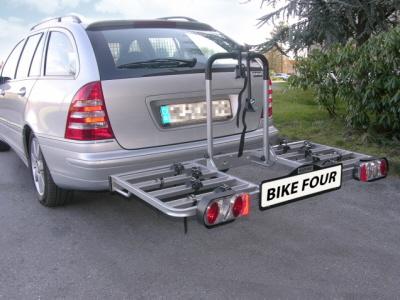 fahrradtr ger f r 4 r der 3 kennzeichen aktuelles modell z b f r mercedes ebay. Black Bedroom Furniture Sets. Home Design Ideas