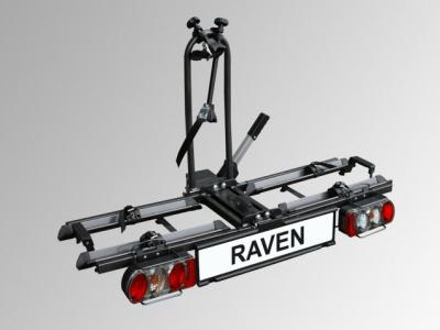 fahrradtr ger eufab raven klappbar anh ngerkupplung ebay. Black Bedroom Furniture Sets. Home Design Ideas